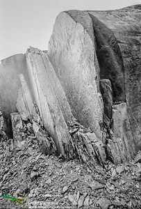Erosion Franz Josef glacier Westland