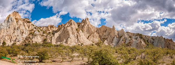 Clay cliffs Omarama