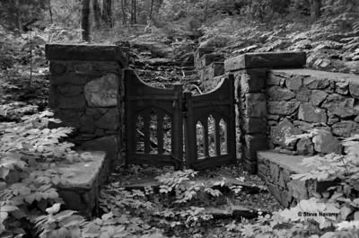 The Gate, Ishpeming, MI.  Exposed on 35mm film.