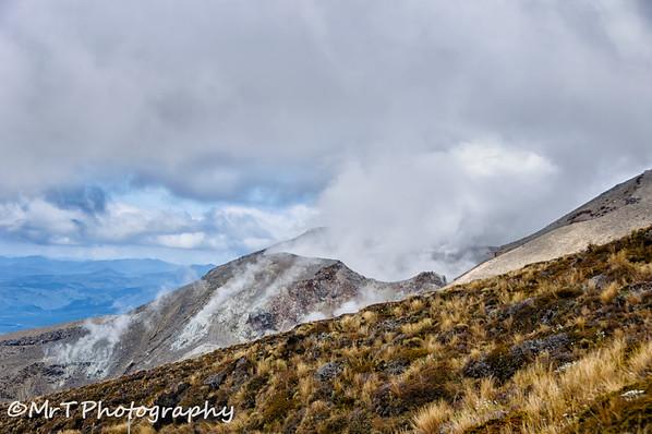 Te Maari crater Mt Tongariro