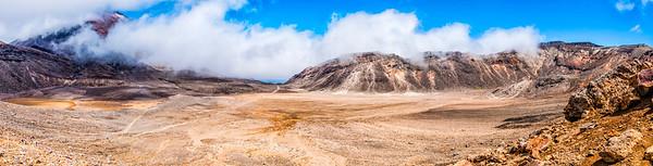 South Crater Tongariro Alpine Crossing