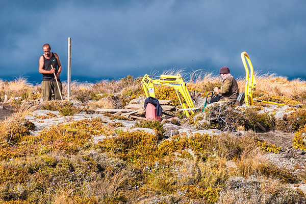 A day at the office Mangetapopo Valley Tongariro Crossing