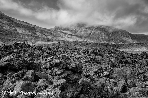 Lava field Tongariro Crossing