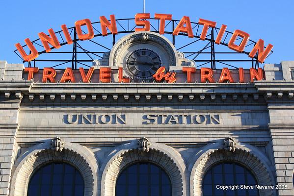 Denver Union Station Exteriors and Interiors