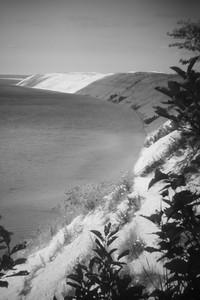 Log slide, Pictured Rocks National Lakeshore