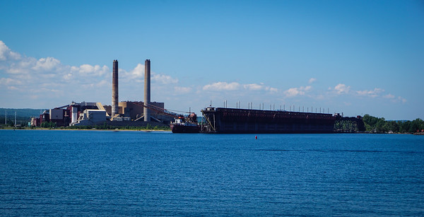Power plant and ore dock, Marquette