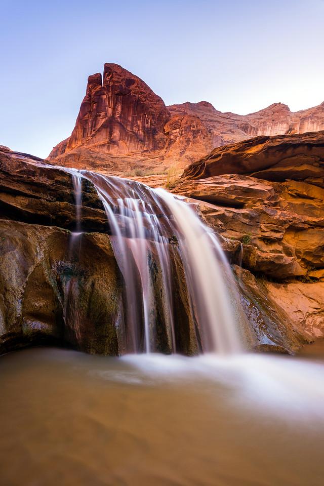 Falls, Coyote Gulch, Grand Staircase-Escalante National Monument