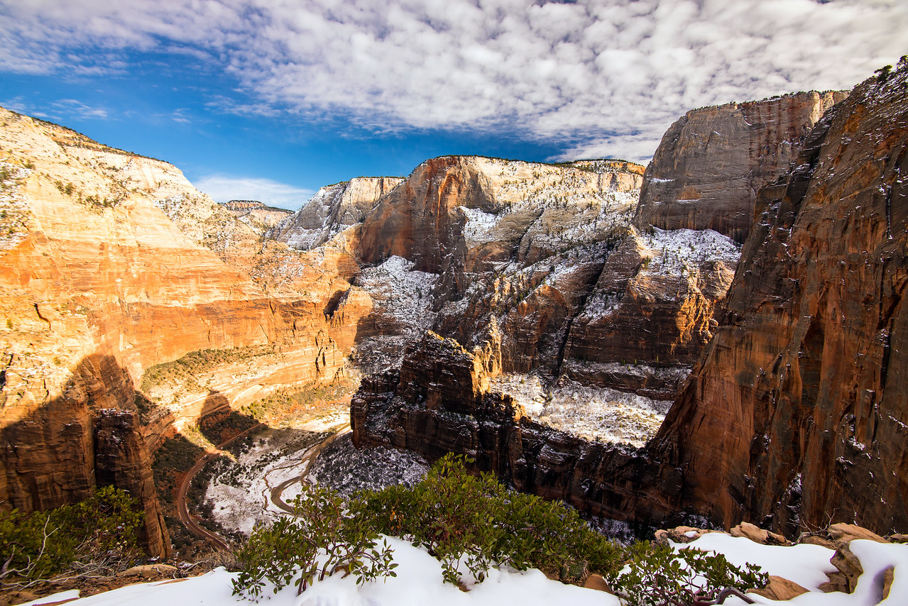 The Organ and Big Bend, Zion National Park