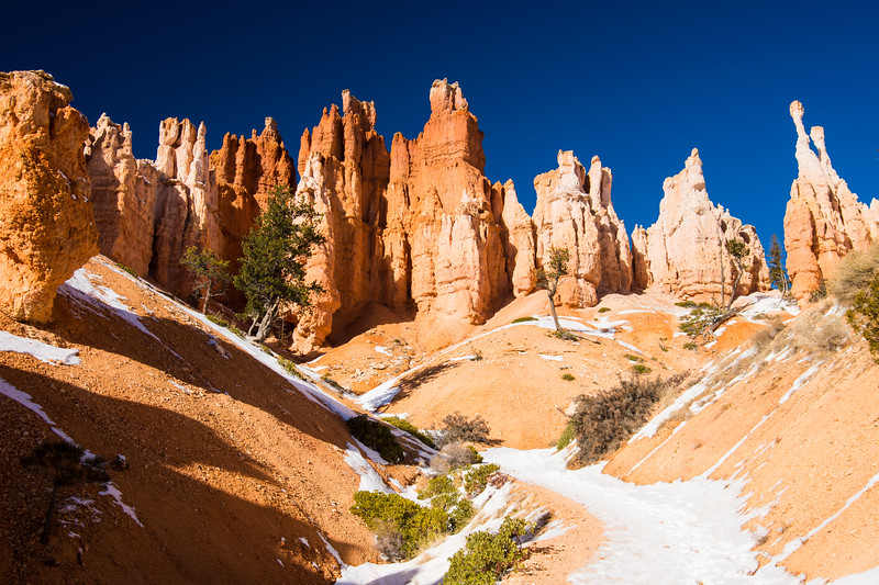 Hoodoos on guard, Bryce Canyon National Park