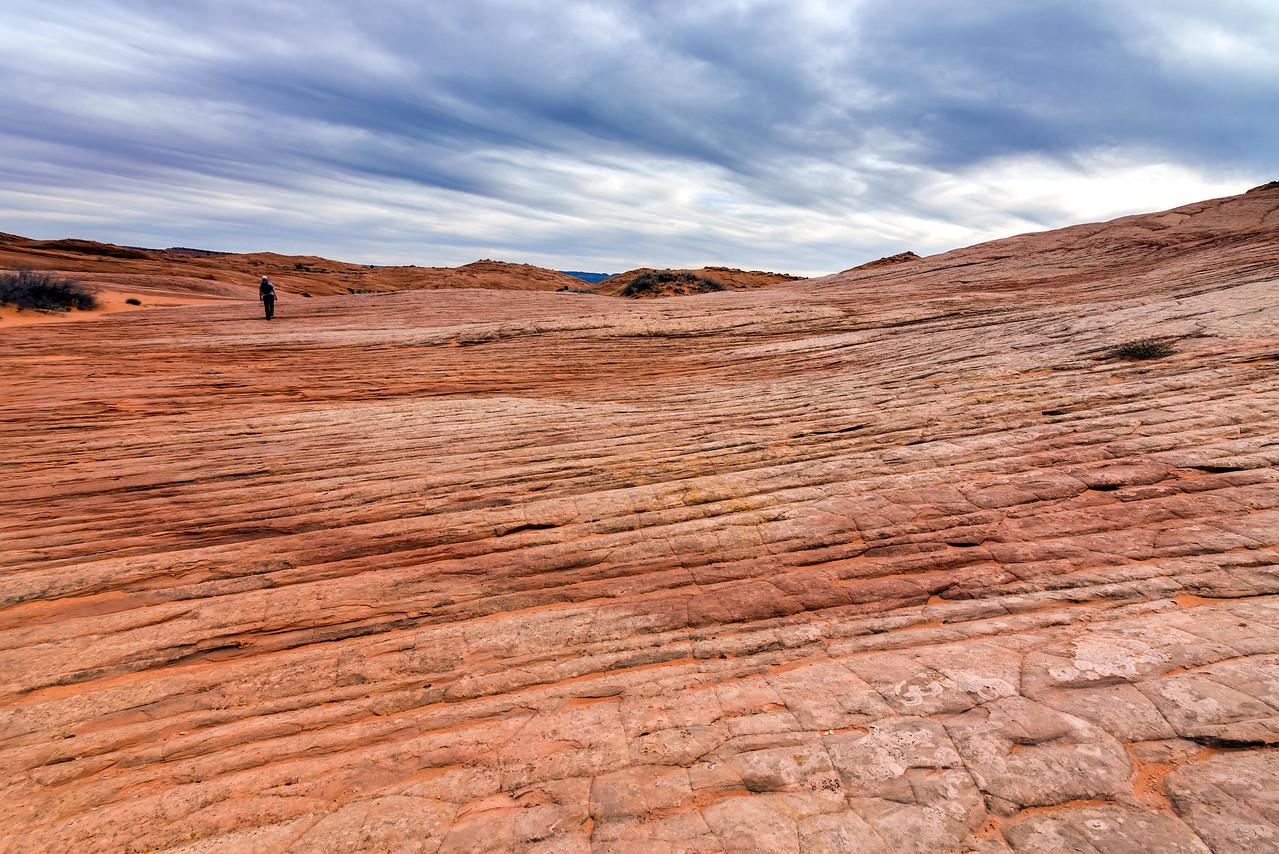 A bedrock stroll