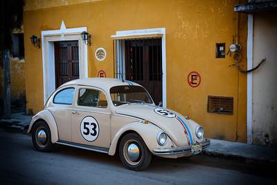 VW Beetle, Izamal, Mexico