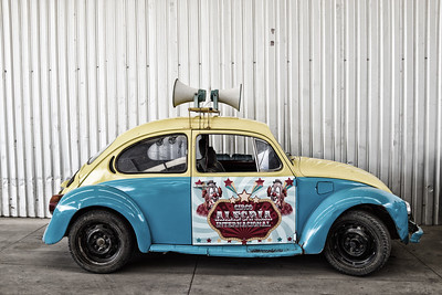VW Clown Car, Oaxaca, Mexico