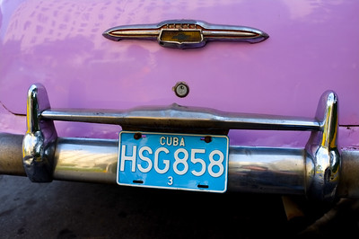 Vintage Purple Chevrolet
