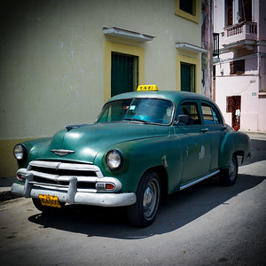 Vintage Chevrolet Taxi
