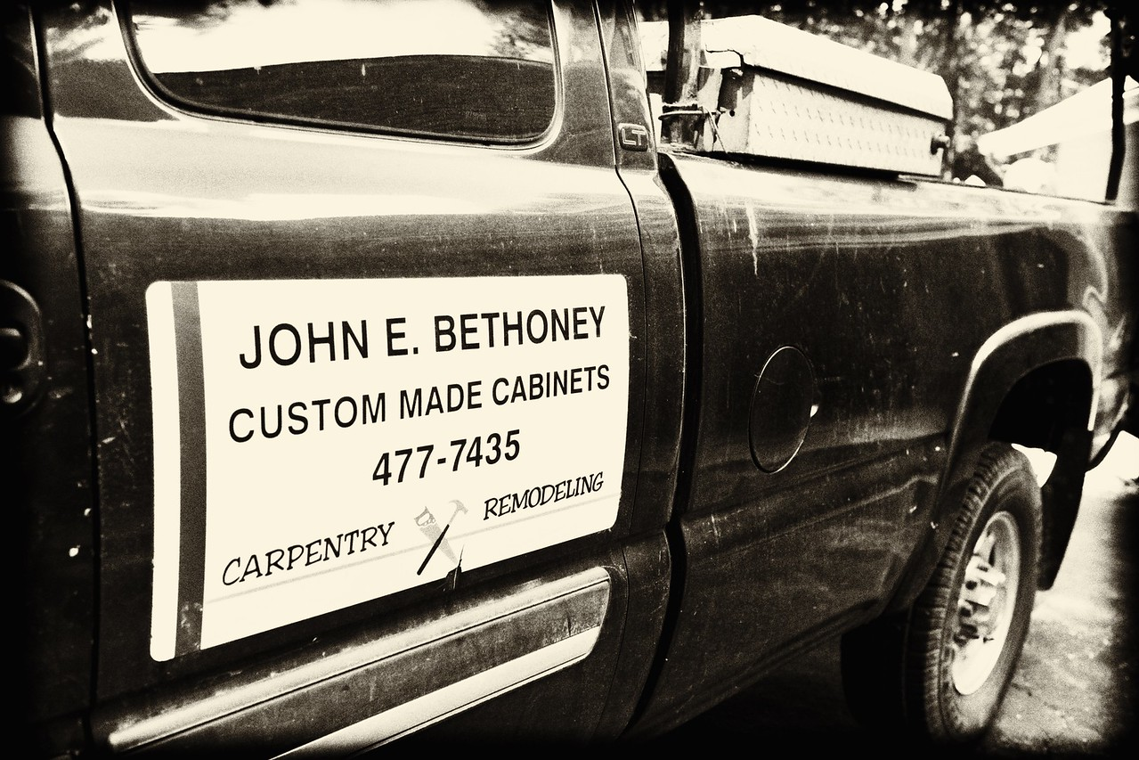 John Bethoney is an artisan craftsman. He makes his own cabinets, installs tile and possesses a world of knowledge on remodeling kitchens, bathrooms, etc.. Just as important for us, John's easy demeanor makes him a pleasure to work with.
