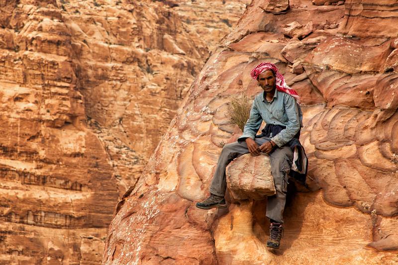 Portrait of Bedouin Guide