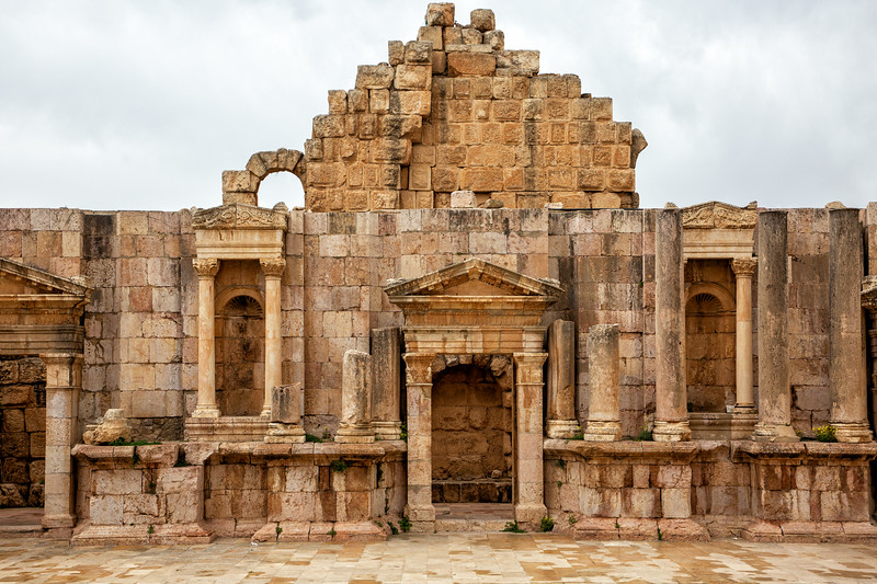 South Theater, Roman Ruins of Jerash