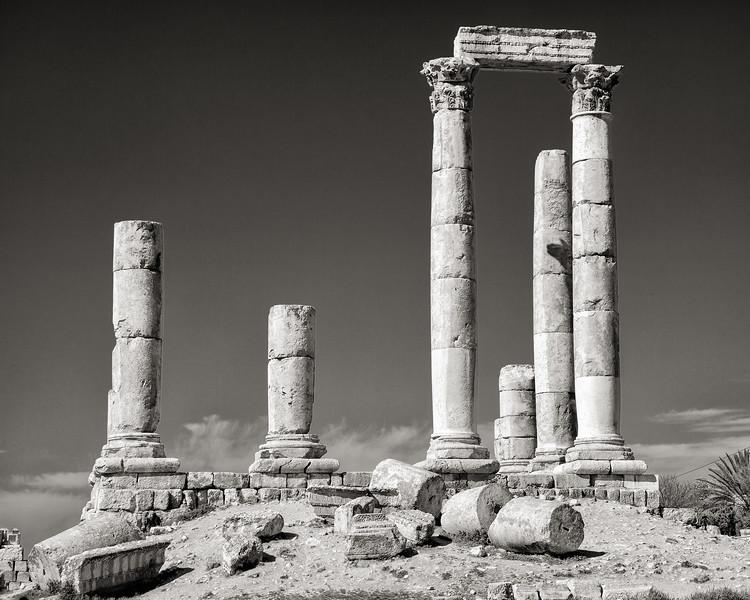 Roman Ruins at the Citadel, Amman