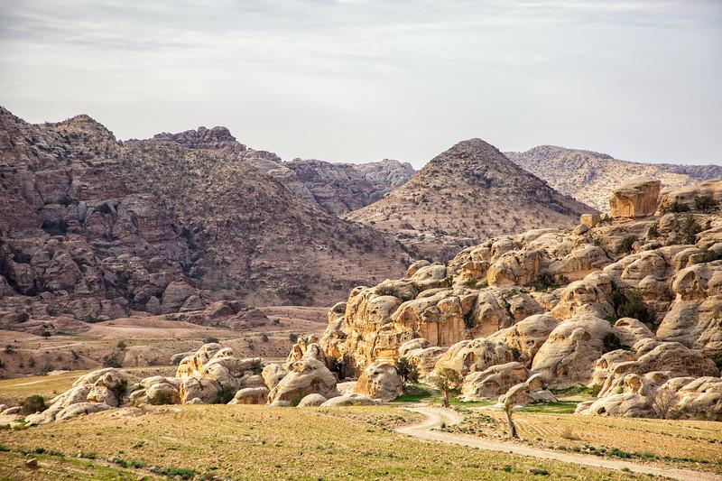 Winding Path, Dana Biosphere Reserve