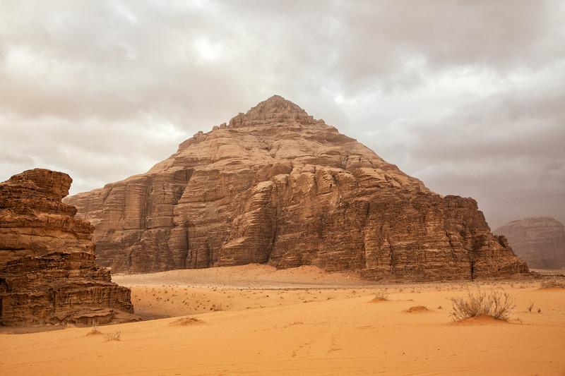 Pyramid Mountain, Wadi Rum