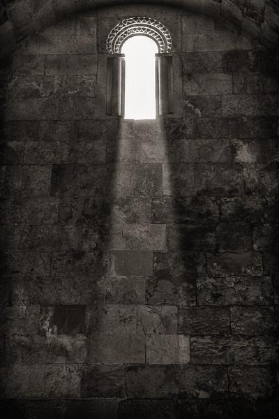Light Through Window, Citadel Amman