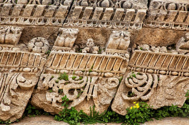 Broken Relief, Roman Ruins of Jerash