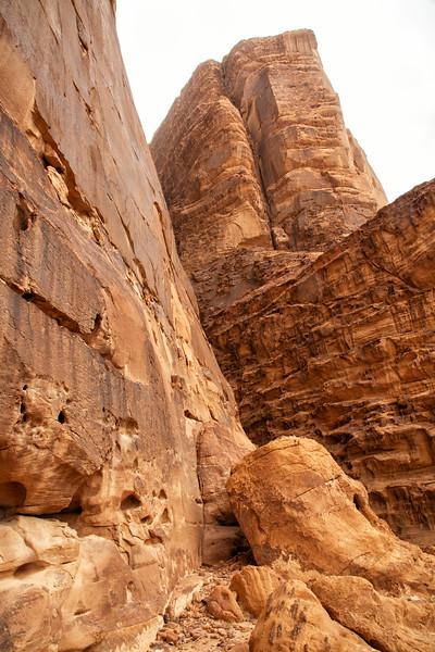 Titled Stones, Wadi Rum