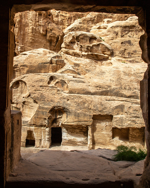 Looking Out, Little Petra