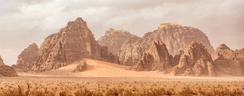Wadi Rum Panoramic