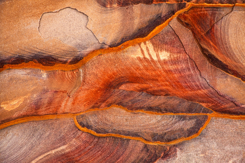 Colorful Stones, Petra