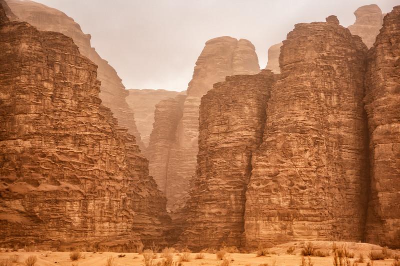 Mountains of Wadi Rum