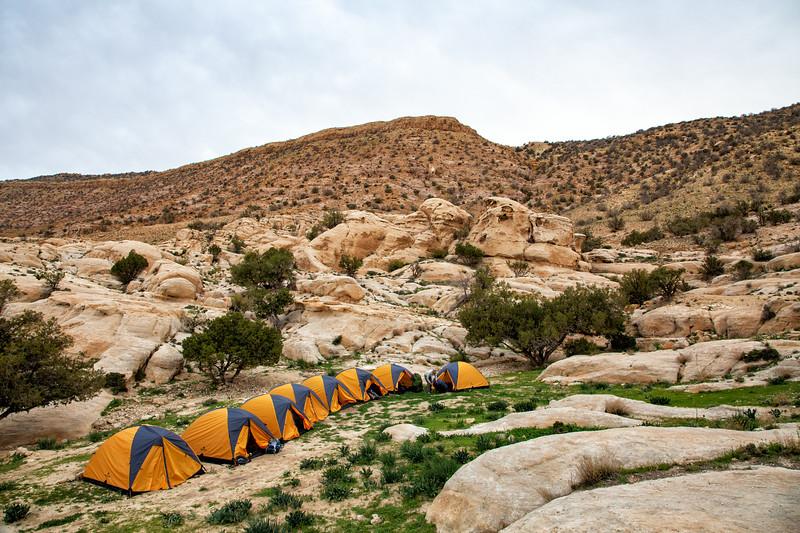 Campsite, Dana Biosphere Reserve