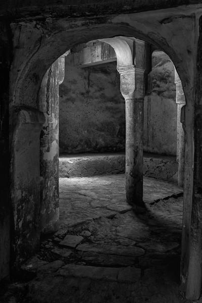 Column and Light, Telouet Kasbah