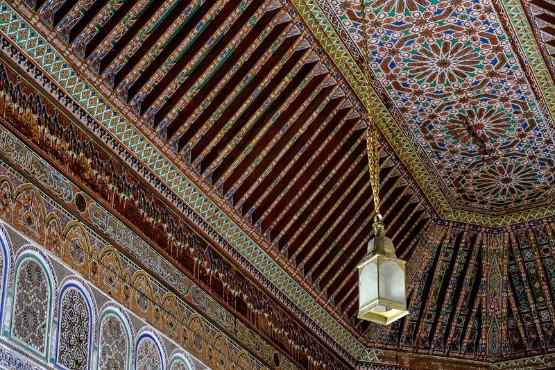 Palace Lantern, Bahia Palace, Marrakech