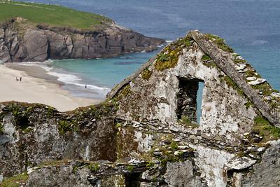Irish Blasket Ruins