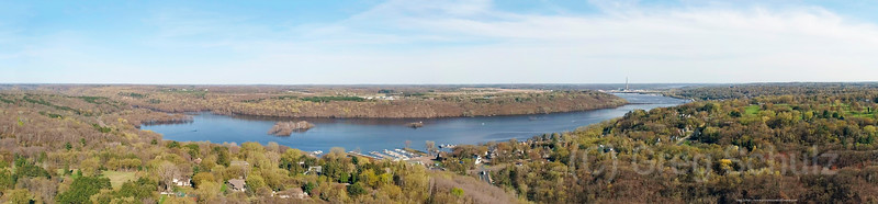St. Croix Valley Spring Pano