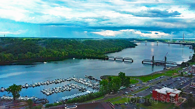 St Croix River Valley Evening Passing Storm Clouds