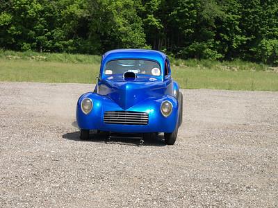 Barb Hamilton's Original '37 Willys Gasser