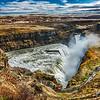 Gullfoss Waterfall in all its glory.
