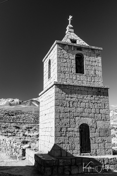 The Old Church in the village of Socaire.