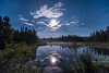 "MOONLIGHT 9617<br /> <br /> ""Full Moon over Cascade River""<br /> <br /> Cook County, MN"