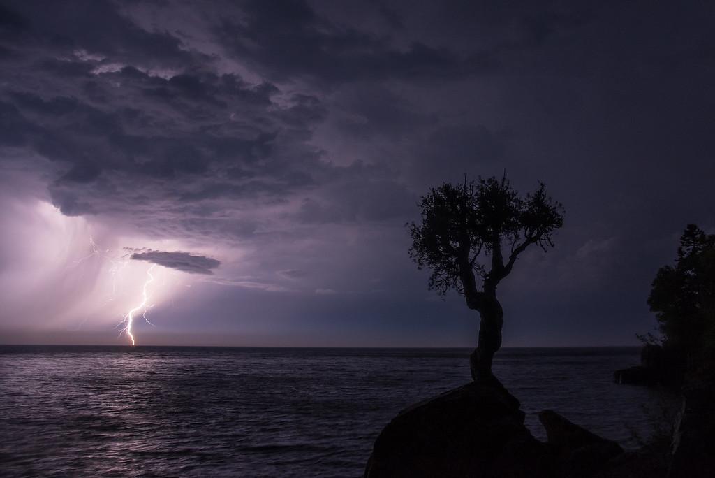 """LIGHTNING 8650<br /> <br /> """"Lightning Squall""""<br /> <br /> Thunderstorm on June 19, 2016"""