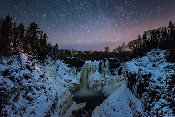 """""""December Night at High Falls"""""""