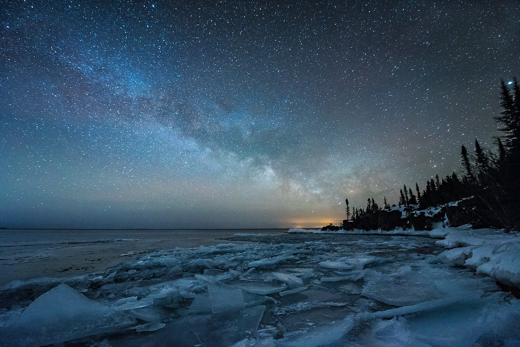"""""""Milky Way over Red Rock Point"""""""