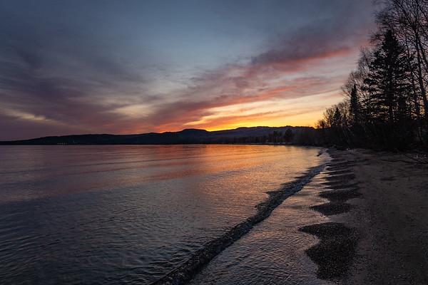 """Superior Sunset"""