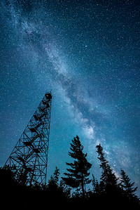 """Fire Tower Milky Way"""