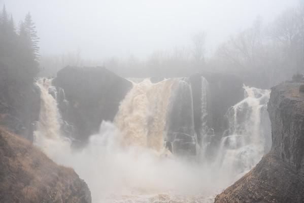 """""""Foggy Morning at High Falls"""""""