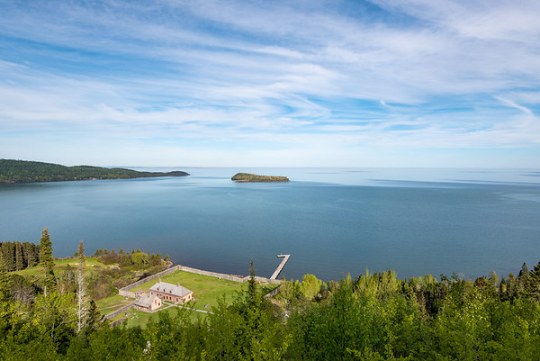 """""""Grand Portage Bay from Mt. Rose"""""""