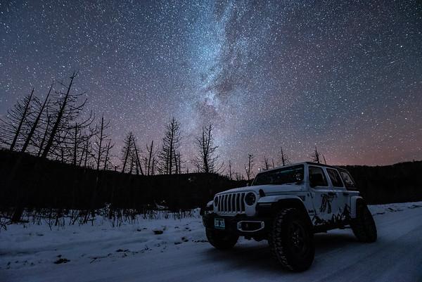 """""""Milky Way Exploring"""""""