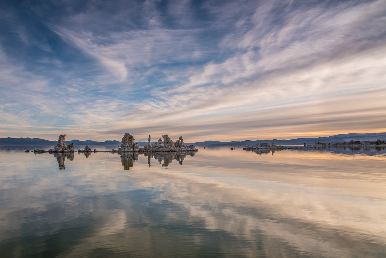 "CALIFORNIA 2123<br /> <br /> ""Mono Lake Morning""<br /> <br /> Mono Lake Tufa State Natural Reserve"